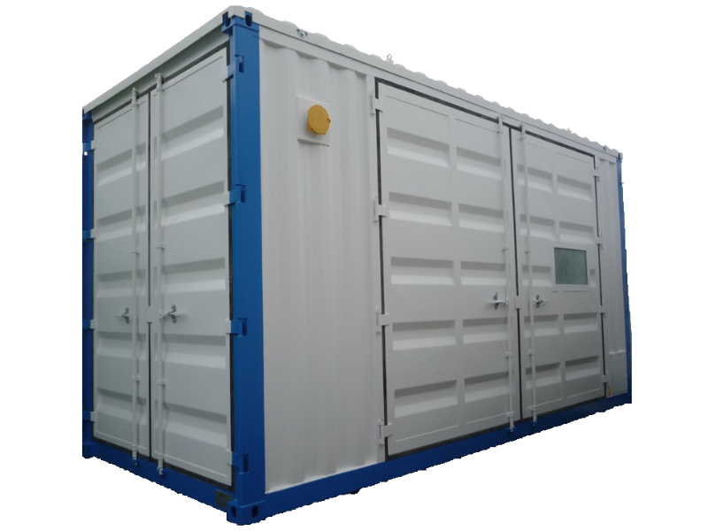 ABS intec - Technikcontainer abs energiecontainer - Energiecontainer