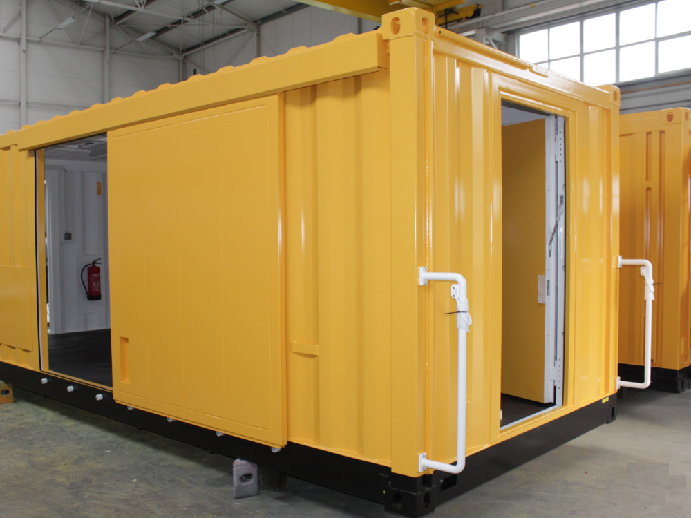 ABS intec - Technikcontainer bahn reperaturwagen3 - Planung & Engineering