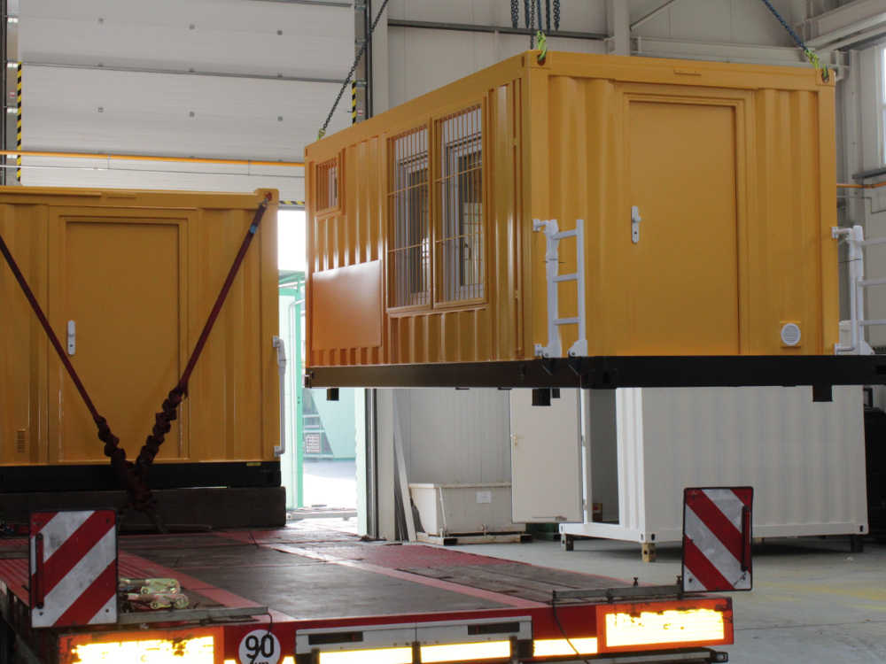 ABS intec - Technikcontainer bahn reperaturwagen5 - Planung & Engineering
