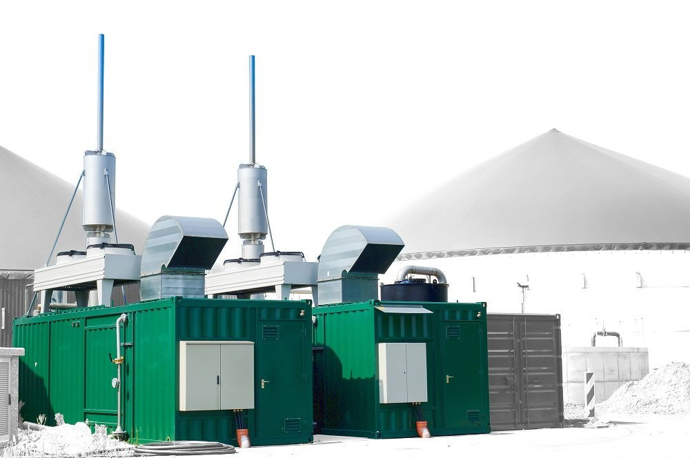 ABS intec - Technikcontainer BHKW Container Biogas Anlage - BHKW-Container